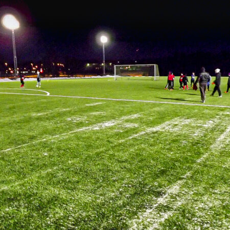 Football / Soccer field LED