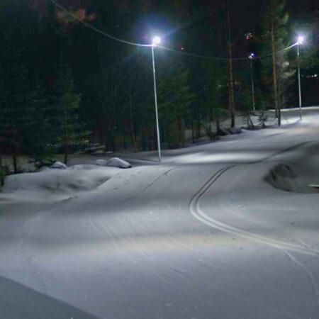 Skiing track LED