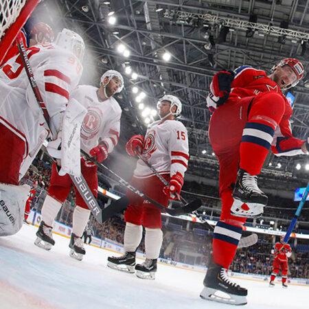 Hockey arena LED