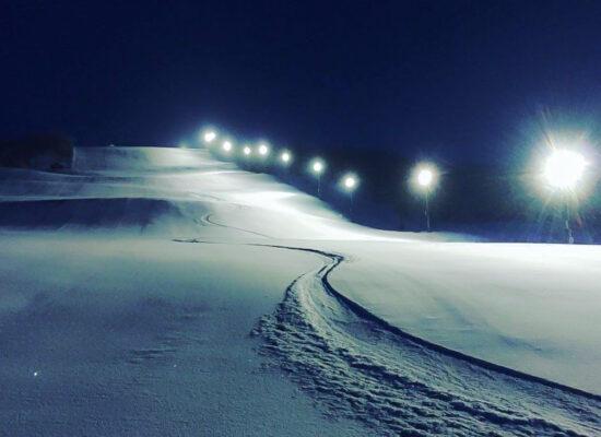 Slalombacke LED