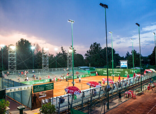 Tennisplan, Italien